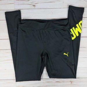 Puma Junior's 10/12 Full Length Logo Legging